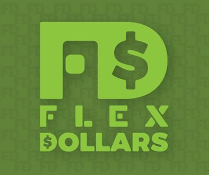 Buy $250 in Flex Dollars get $25 Flex Dollars Free!